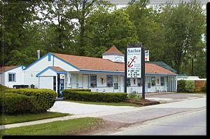 picture of anchor motel front building